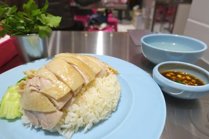 カオマンガイセット スープ・パクチー・タレ付き